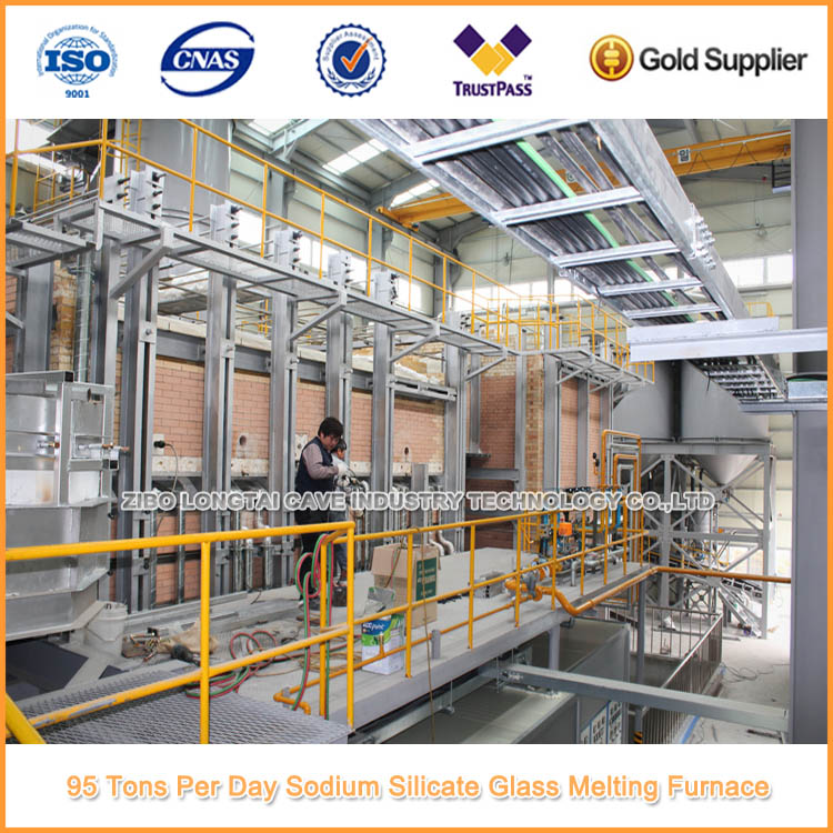 95 Tons Per Day Solid Sodium Silicate Production Plant