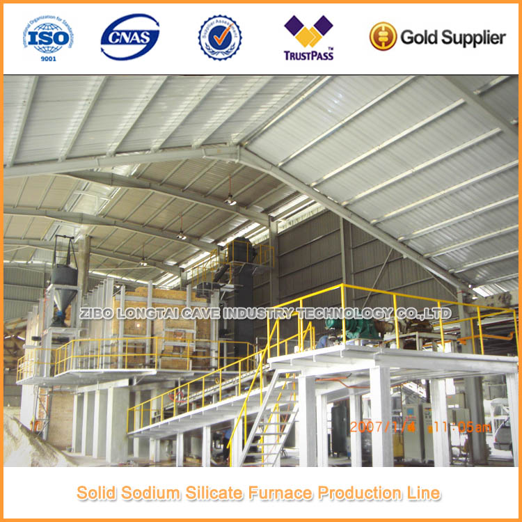 28 Tons Per Days Solid Sodium Silicate Plant