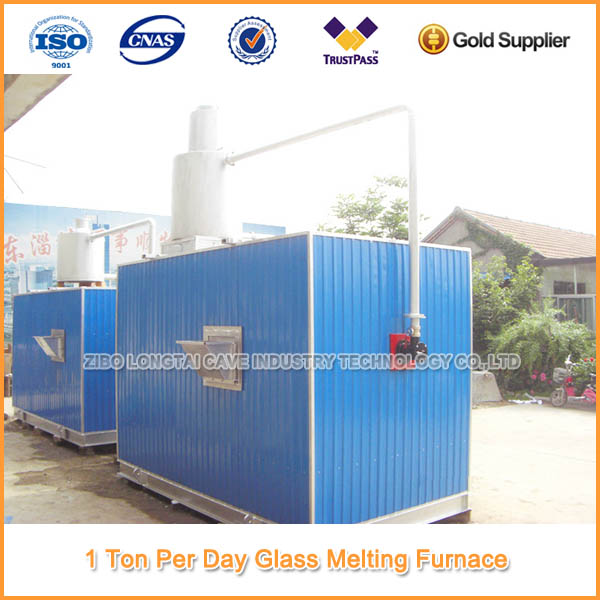 Moveable Gas Glass Melting Furnace