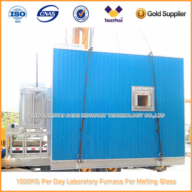 1000KG Per Day Laboratory Furnace For Melting Glass